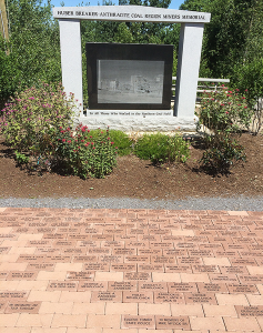 Pavers Placed at the memorial July 2014